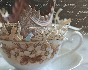 SALE penny royal tea 5x7 photograph
