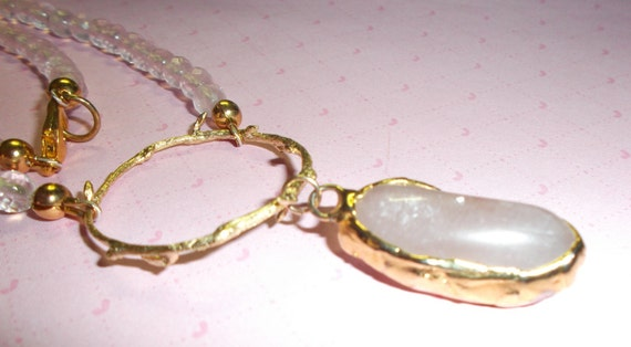 RESERVED FOR PAM      For the Love of the Love Stone                    (Rose Quartz Necklace)