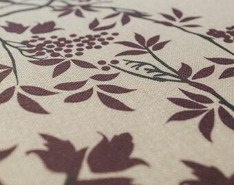 Bookcloth Ketubah Print by Jennifer Raichman - Grapevines