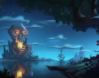 Popular Items For Skull Island On Etsy