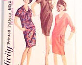 Vintage 1960s Simplicity 6080 Dress Pattern Bust 40