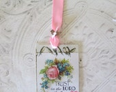 Proverbs Scripture Bookmark Laminated Bookmark - Religious Christian Bookmark - 1 Proverbs Bible Bookmark