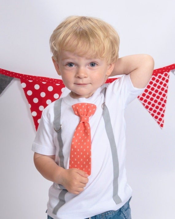 Boy 2nd birthday shirt boys second birthday outfit for Baby shirt and bow tie