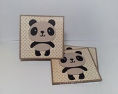 Ridiculously Cute Panda-  Mini Cards  Childrens cards thank you cards