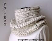Pattern,Crochet Cowl Hood Pattern,Crochet Cowl Pattern,Neckwarmer Pattern,Instant Download
