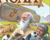 Personalized  Religious childrens book NOAH  Ships in 24 hours