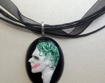 Dark Knight Joker Cameo - Choose Color & Setting