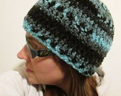 Super Soft and Slinky Crocheted Boucle Hat