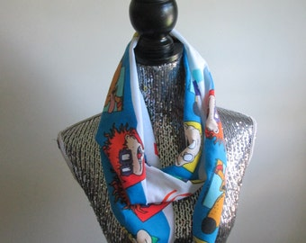 Rugrats Nickelodeon Cartoon Infinity 90s Scarf