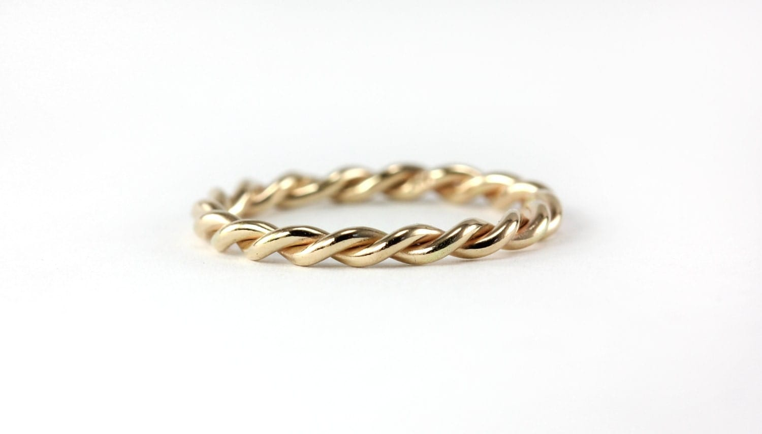infinite twisted rope ring band wedding band by