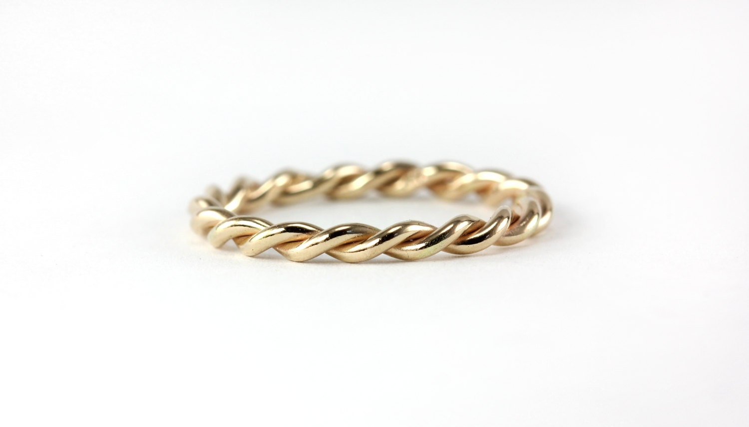 Infinite Twisted Rope Ring Band Wedding Band by AlyshaWhitfield
