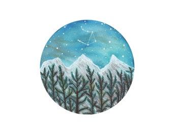 Libra Constellation //  Fine Art Print // Nature Print //Libra & the Three Sisters