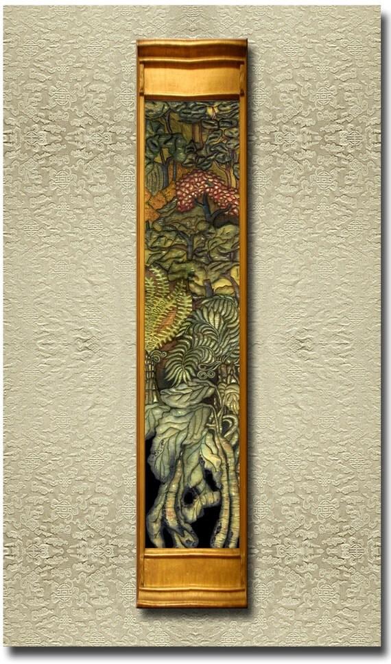 Lost Treasures - Fine Art Print on heavy Cotton Canvas - unframed