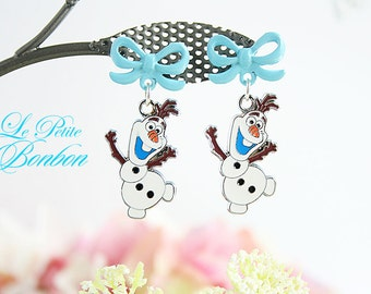 Hi, I am Olaf and I like warm hugs earrings