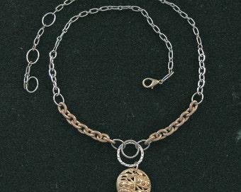 1800s Button Necklace