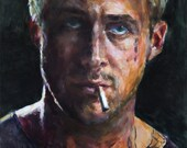 Ryan Gosling, Original Oil Painting