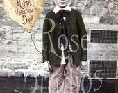 Valentine Wish-Altered Art-Digital Image Download