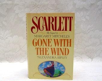 Scarlett - Gone With The Wind Sequel - by Alexandra Ripley - Tara - Scarlett O'Hara - Rhett Butler - Ashley Wilkes - copyright 1991