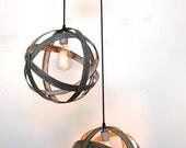 """ATOM -""""Plicate"""" - Double Atom Hanging Lantern - 100% RECYCLED"""