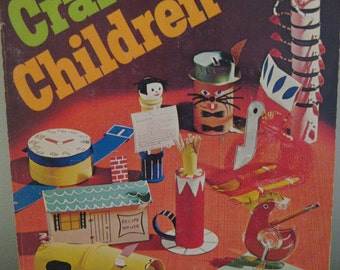 Vintage Year 'Round Crafts For Children Book