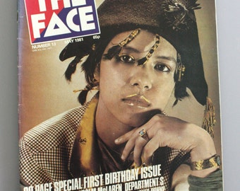 The Face magazine - Annabella Lwin cover (May 1981 - Issue 13)
