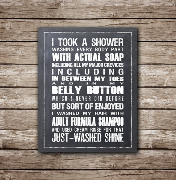 Home Alone Quote I Took A Shower Washing Every Body