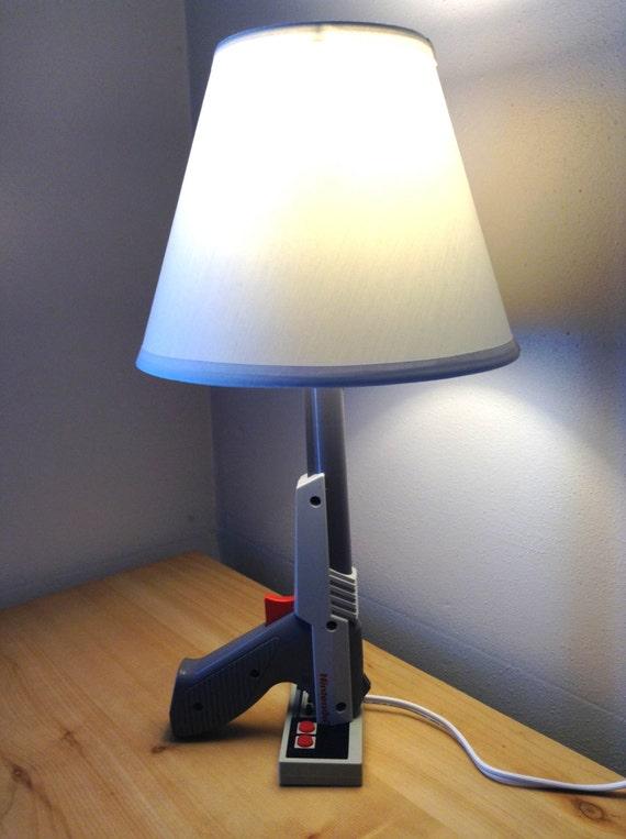 Nes Nintendo Zapper Lamp Desk Light Sculpture By Woody6switch