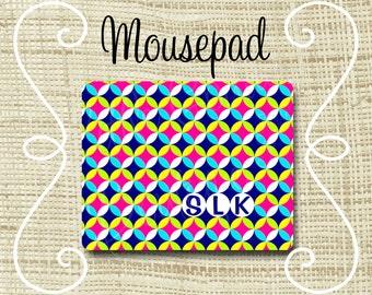 Custom Personalized Mousepad Mouse Pad Circles mod
