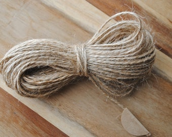 Jute Twine - 15 yards (55 feet)