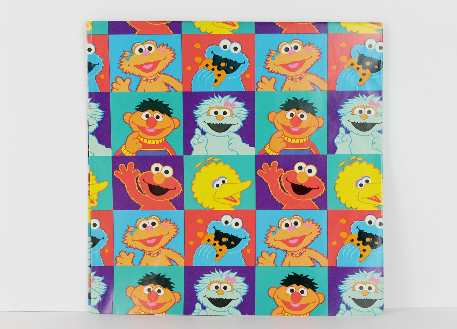 elmo wrapping paper Elmo wrapping paper - compare prices at buycheaprcom help iris 105149 this set includes 2 wrapping paper boxes and 2 ribbon storage boxes great for storing and organizing all season wrapping paper, ribbons and bows.