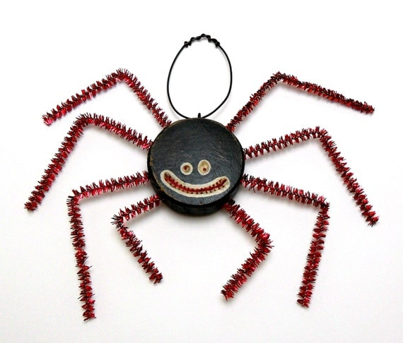 Spider, Insect, Bug, Halloween Finds, Primitive Halloween,Halloween Ornament, Monster, Halloween Trends, Fall Trends, Fall Finds