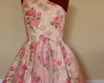 Strawberries N' Cream Swing Dress - Custom Made