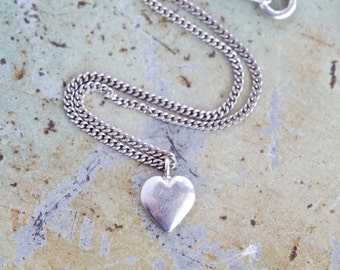Bracelet in Sterling Silver with Heart Charm