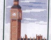 Big Ben and The Houses of Parliament Counted Cross-Stitch Kit
