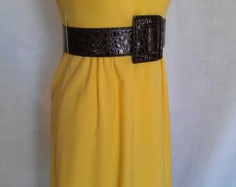 Yellow Summer Daydream Dress