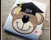 Graduation Bear Custom Shirt  - Kindergarten - 1st Grade - 2nd Grade - School Shirts - Back To School