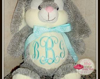 Bunny Cubbie 174 Custom Stuffy Personalized Baby Bunny