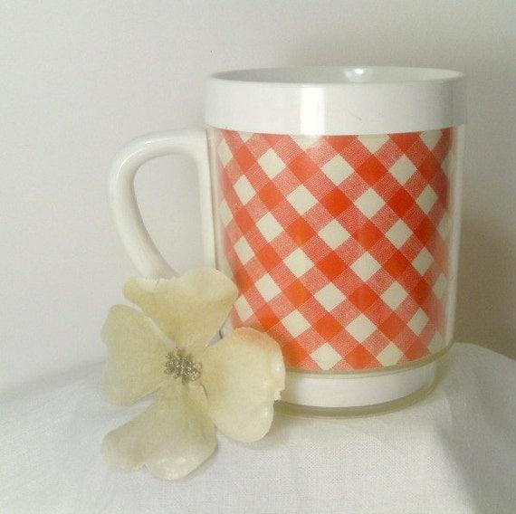 Plastic Insulated Picnic Mug Coffee Cup Camping Mug