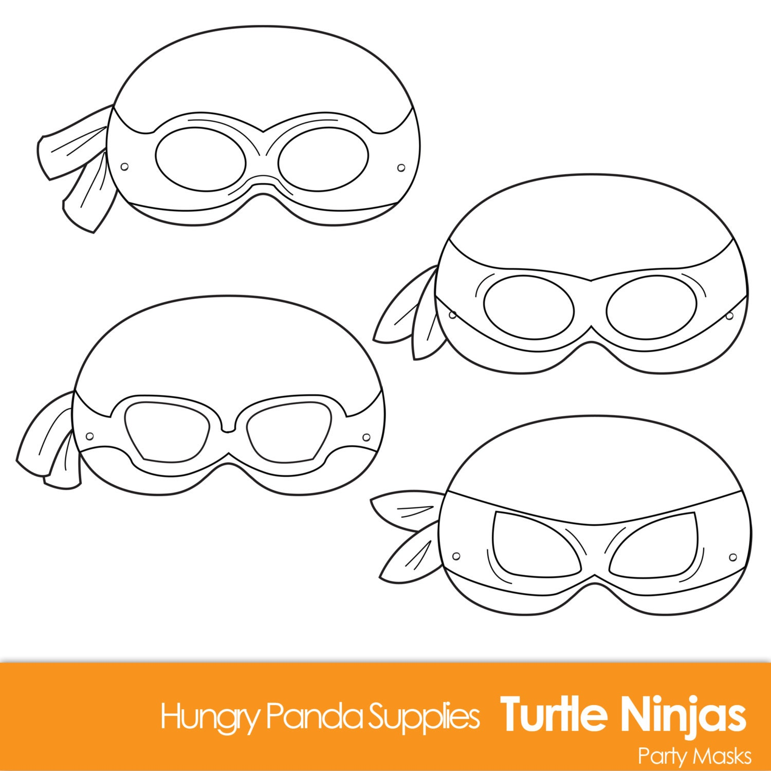 Handy image regarding ninja turtles mask printable