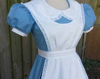 Adult Alice in Wonderland costume for Halloween or Cosplay