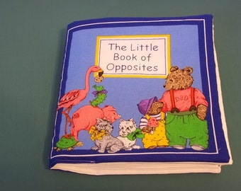 The Little Book of Opposites Cloth Baby Book