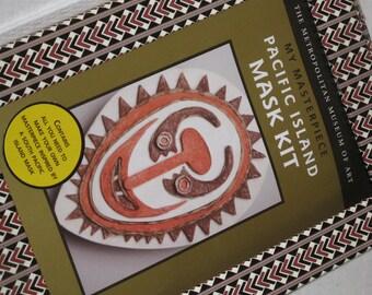 Pacific Island Mask Kit The Metropolitan Museum of Art Balsa Wood Mask