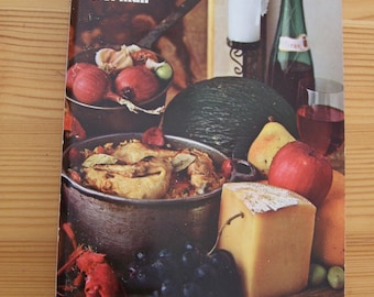 "Vintage 1967 ""The SPANISH COOKBOOK"" By Barbara Norman"