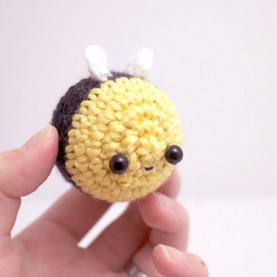 Amigurumi Bee : amigurumi bee plush kawaii crochet bumble bee by mohustore