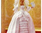 Crochet collector Costume Volume 12- 1778 Louis XVI Bride Fashion Doll  Crochet Pattern