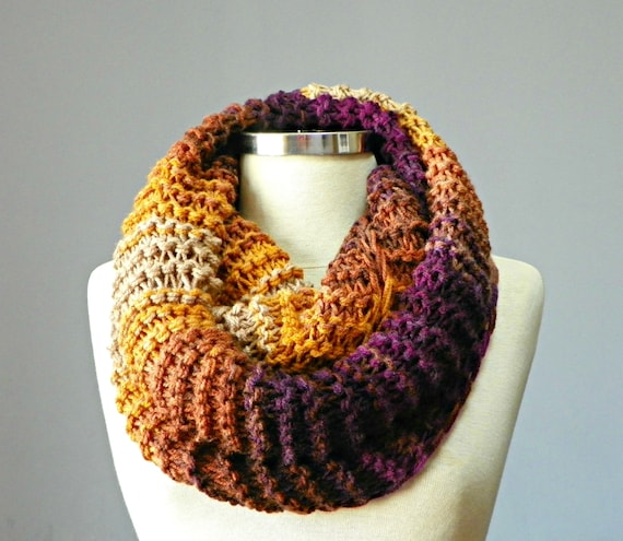 items similar to sale knit scarf knitted infinity scarf