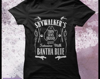 Star Wars tshirt Women's - Blue milk - Bantha Blue