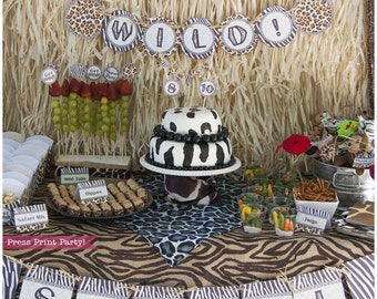 African party etsy for African party decoration