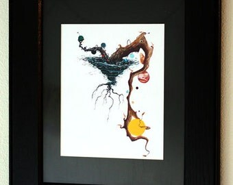 Black Hole II, Framed Print