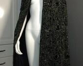 Ralph Lauren Handbeaded on Silk Velvet Cape